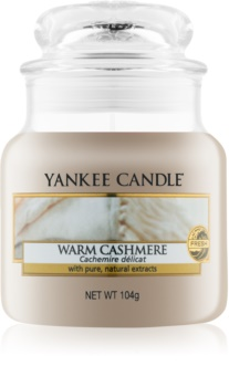 Yankee Candle Warm Cashmere scented candle