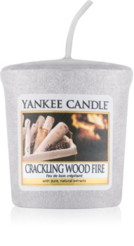 Yankee Candle Crackling Wood Fire votive candle