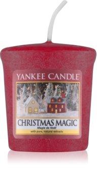 Yankee Candle Christmas Magic mala mirisna svijeća bez staklene posude