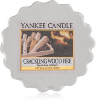 Yankee Candle Crackling Wood Fire vosek za aroma lučko