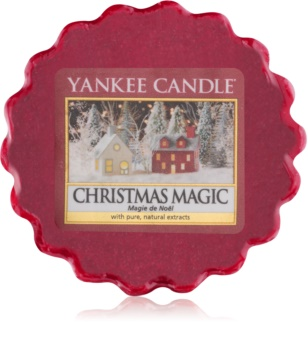 Yankee Candle Christmas Magic vaxsmältning