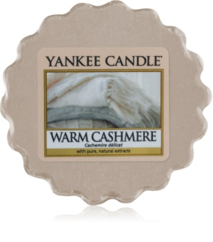 Yankee Candle Warm Cashmere tartelette en cire