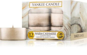 Yankee Candle Warm Cashmere čajová svíčka