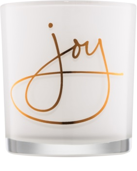 Yankee Candle Magical Christmas glass votive candle holder Joy II.