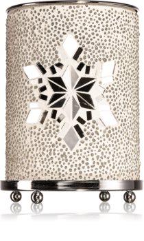 Yankee Candle Twinkling Snowflake lampă aromaterapie din sticlă