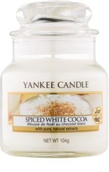 Yankee Candle Spiced White Cocoa vonná sviečka Classic malá