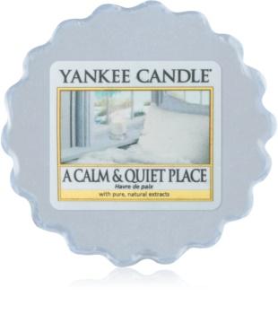 Yankee Candle A Calm & Quiet Place tartelette en cire