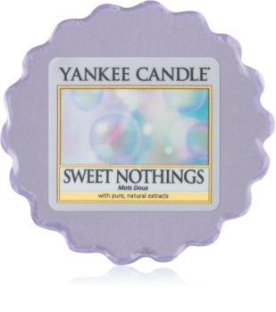 Yankee Candle Sweet Nothings vaxsmältning