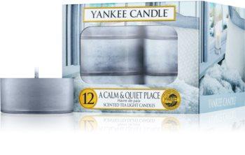 Yankee Candle A Calm & Quiet Place čajová svíčka