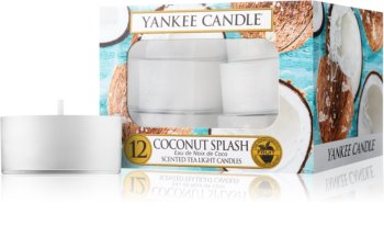 Yankee Candle Coconut Splash tealight candle