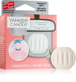 Yankee Candle Pink Sands auto luchtverfrisser  Navulling  Ophangend