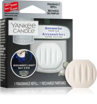 Yankee Candle Midsummer´s Night vůně do auta náhradní náplň závěsná