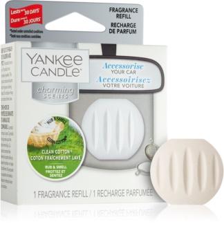 Yankee Candle Clean Cotton miris za auto zamjensko punjenje za vješanje