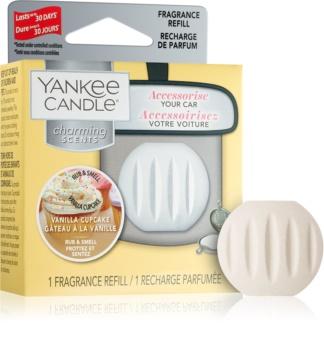 Yankee Candle Vanilla Cupcake vůně do auta náhradní náplň