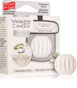 Yankee Candle Fluffy Towels car air freshener Refill hanging