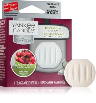 Yankee Candle Black Cherry deodorante per auto ricarica sospeso