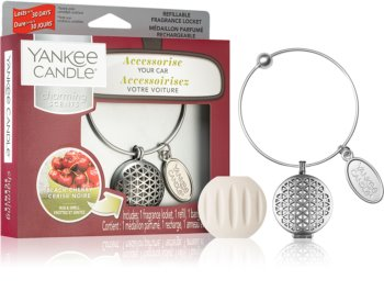 Yankee Candle Black Cherry vůně do auta (Geometric)