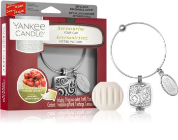 Yankee Candle Black Cherry car air freshener II. (Square)