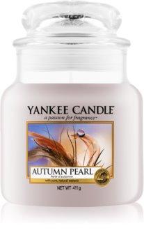 Yankee Candle Autumn Pearl geurkaars Classic Medium
