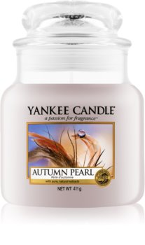 Yankee Candle Autumn Pearl scented candle Classic Medium