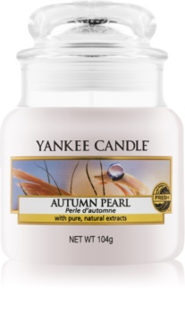 Yankee Candle Autumn Pearl scented candle Classic Mini