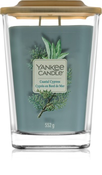 Yankee Candle Elevation Coastal Cypress scented candle Large
