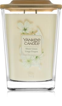 Yankee Candle Elevation Sheer Linen lumânare parfumată  mare