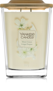 Yankee Candle Elevation Sheer Linen scented candle Large