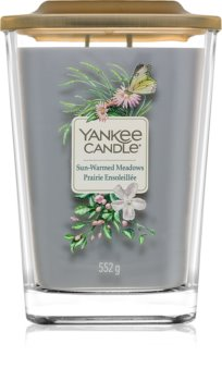 Yankee Candle Elevation Sun-Warmed Meadows vela perfumada grande