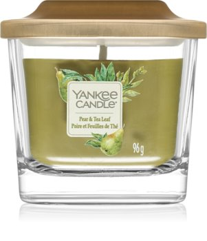 Yankee Candle Elevation Pear & Tea Leaf lumânare parfumată  mică