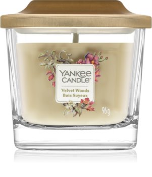 Yankee Candle Elevation Velvet Woods vonná svíčka malá