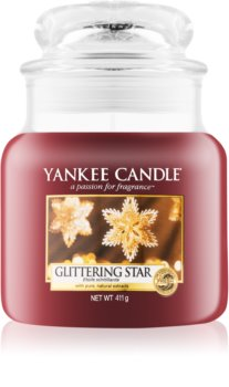 Yankee Candle Glittering Star scented candle Classic Medium