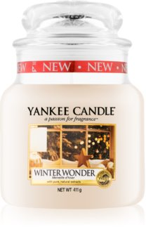 Yankee Candle Winter Wonder scented candle Classic Medium