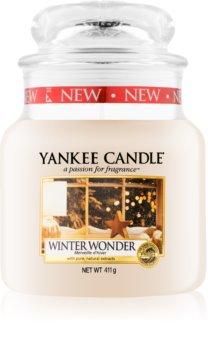 Yankee Candle Winter Wonder vonná svíčka Classic střední