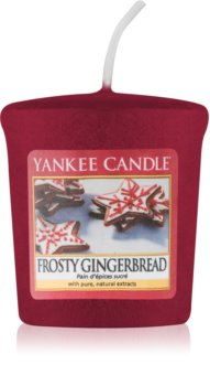 Yankee Candle Frosty Gingerbread votive candle