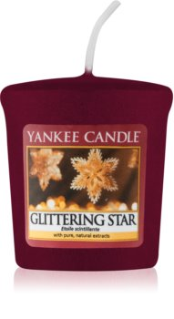 Yankee Candle Glittering Star votive candle