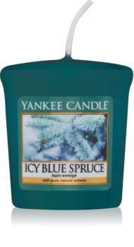 Yankee Candle Icy Blue Spruce votivní svíčka