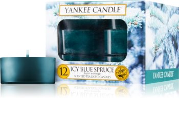 Yankee Candle Icy Blue Spruce tealight candle