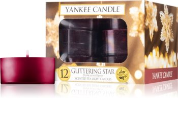 Yankee Candle Glittering Star tealight candle
