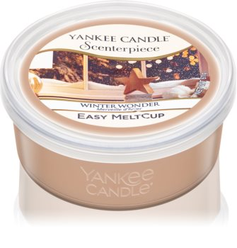 Yankee Candle Winter Wonder wax for electric wax melter