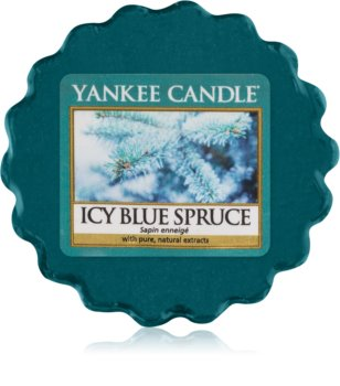 Yankee Candle Icy Blue Spruce tartelette en cire