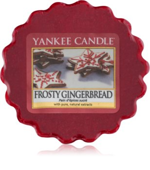 Yankee Candle Frosty Gingerbread κερί για αρωματική λάμπα