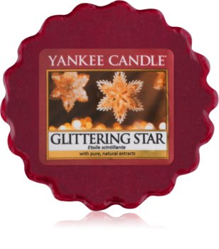 Yankee Candle Glittering Star wax melt