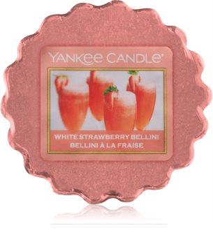 Yankee Candle White Strawberry Bellini κερί για αρωματική λάμπα