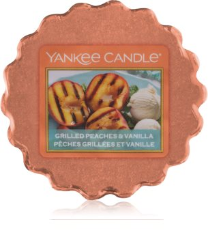 Yankee Candle Grilled Peaches & Vanilla κερί για αρωματική λάμπα