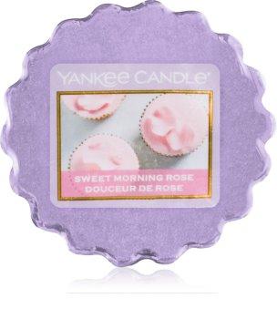 Yankee Candle Sweet Morning Rose cera per lampada aromatica