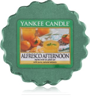 Yankee Candle Alfresco Afternoon vaxsmältning