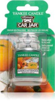 Yankee Candle Alfresco Afternoon car air freshener hanging