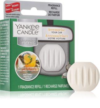 Yankee Candle Alfresco Afternoon ambientador de coche para ventilación recarga de recambio