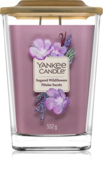 Yankee Candle Elevation Sugared Wildflowers lumânare parfumată